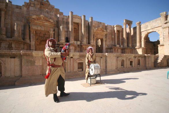 U kolicima po Jordanu – 2. dio (Toplinski udar u Jerashu, Planina Nebo & Mrtvo more)