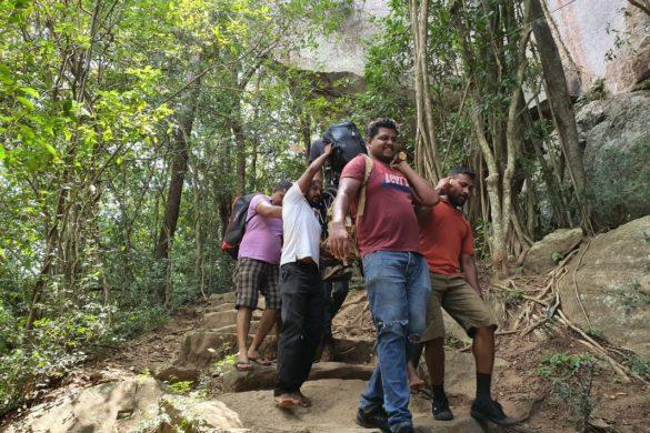 Kako sam se na Šri Lanki popeo na vrh stijene usred džungle i to u kolicima?